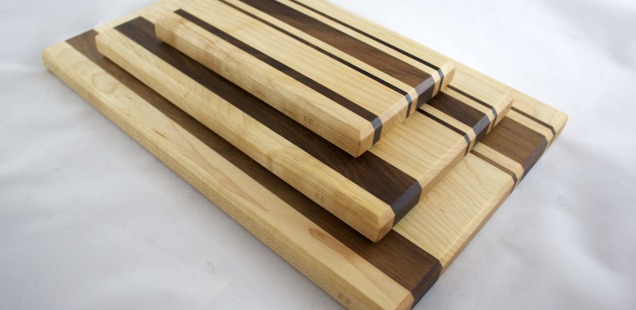 DIY: Walnut and Maple Cutting Boards