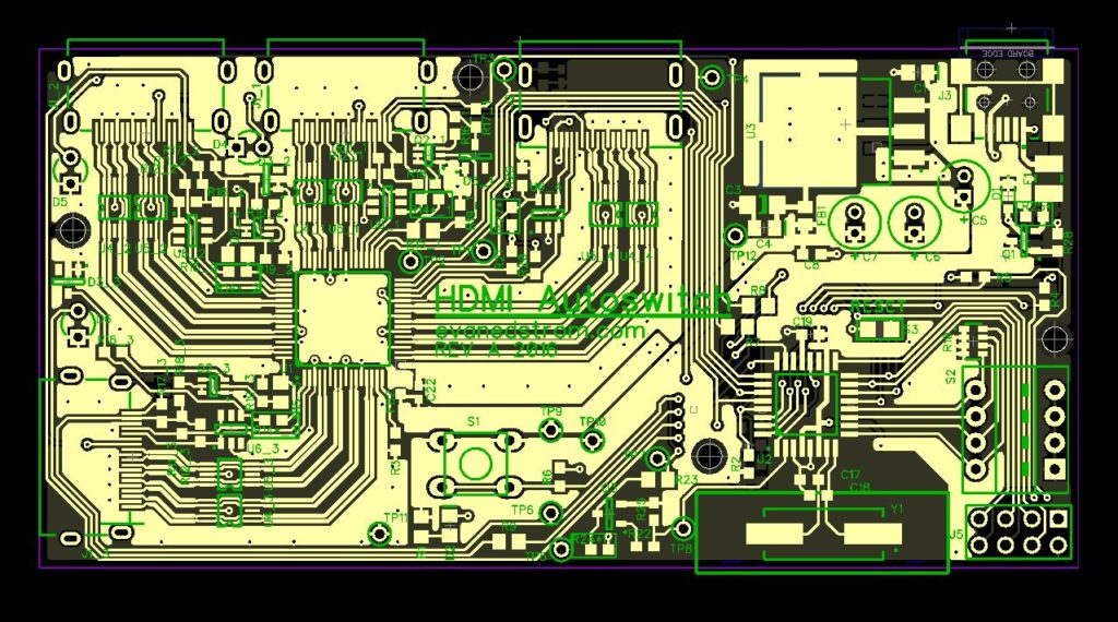 HDMI PCB Final
